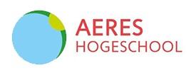Logo Aeres Hogeschool - Gastcollege door gastdocent en agritrainer van Hogenkamp